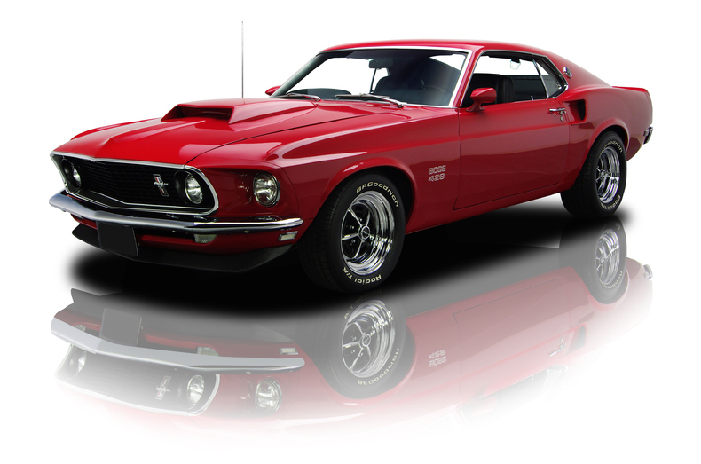Boss 429 Mustang Brand New Muscle Car Ford Replica Builder For