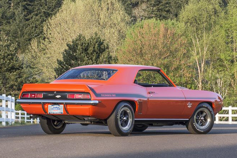 Official Licensed 1969 Yenko 427 Camaro S C Continuation