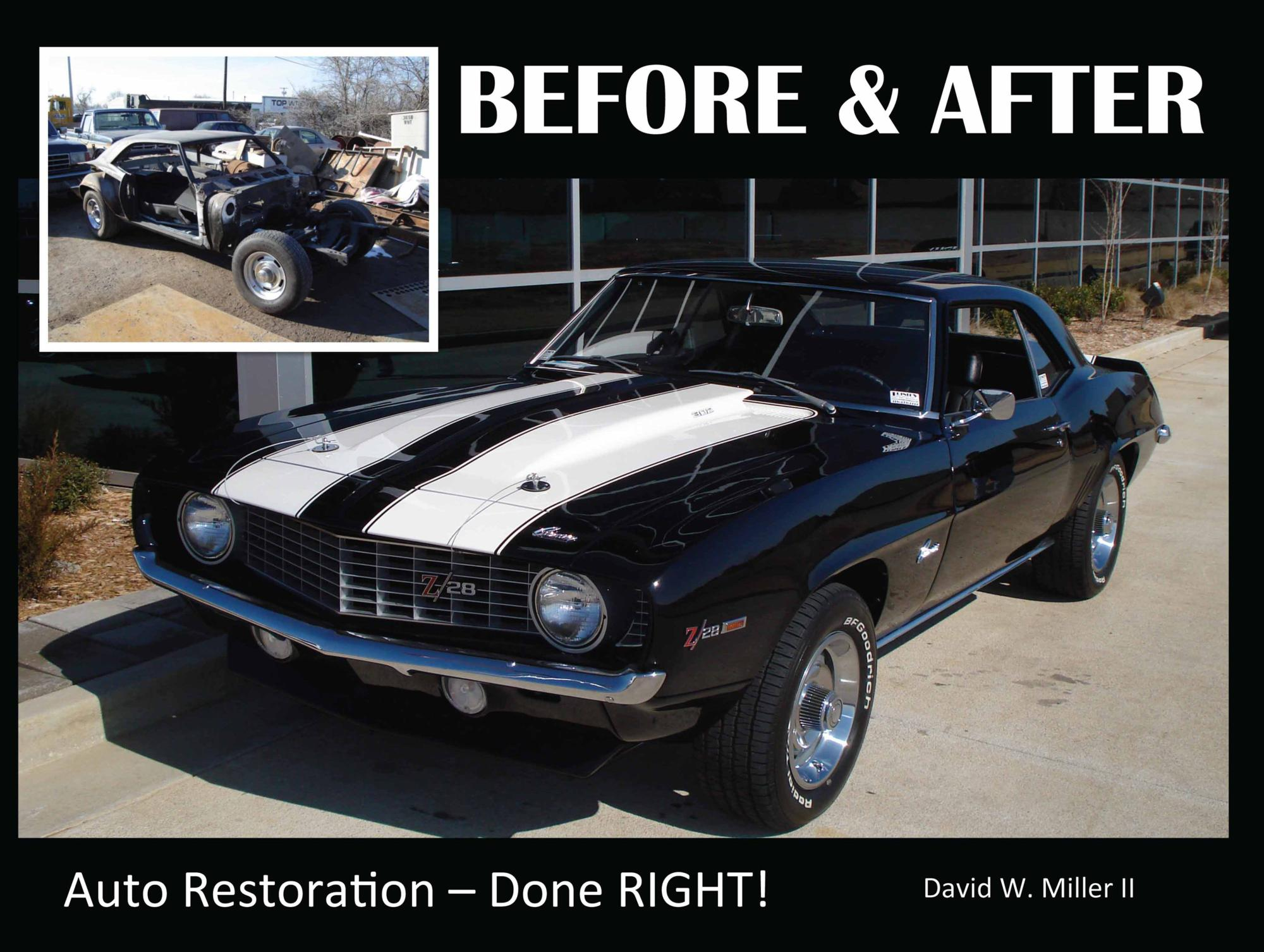 BOOK, Brand New Muscle Car, BEFORE & AFTER